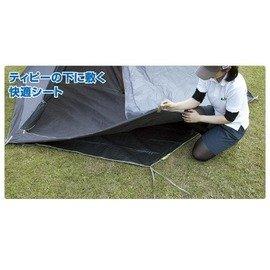《台南悠活運動家》LOGOS 日本 六角形帳蓬地墊 300 71809705