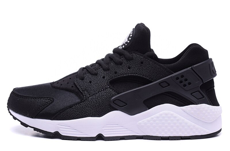 Nike Huarache 黑白武士 情侶鞋