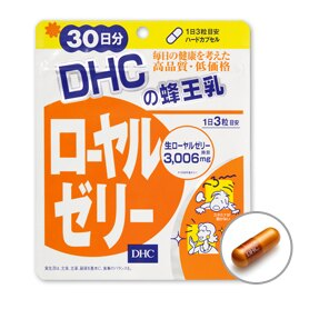 DHC蜂王乳 30日份(90粒) 素晴館