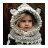 毛帽 萌卡通可愛針織毛線帽【YJM-A146】 BOBI  10/13 2