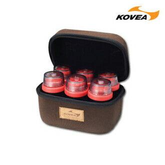 Kovea 韓國 | CS調味醬料罐組-6入附硬盒 | 秀山莊(KR8CK0201)