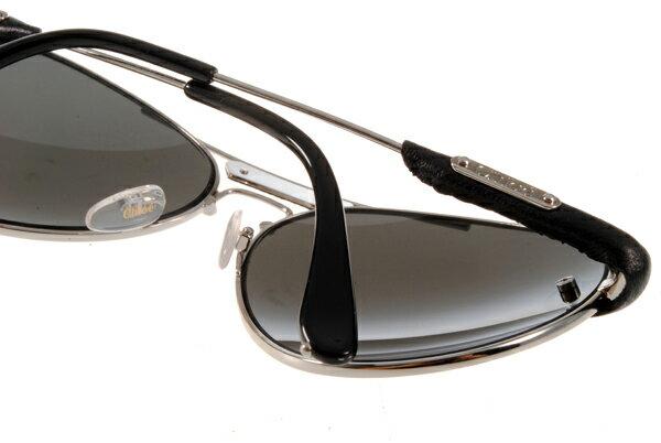 [Anson King]法國100%正品代購 CHLOE 克羅伊 好萊塢 時尚飛行復古皮革 CL2104系列 銀黑色 5