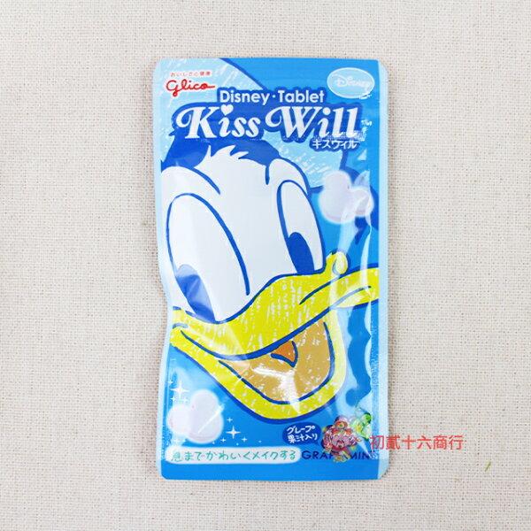 【0216零食會社】日本KissWill葡萄薄荷糖11g