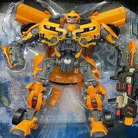 ☆︵興雲網購︵☆(大)變形金剛大黃蜂-聲光 可動玩偶 模型 公仔 變形金剛機器人 豪華上市