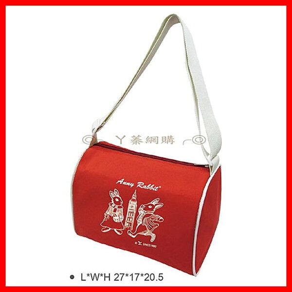☆︵興雲網購︵☆安妮兔運動袋 旅行袋 環保袋 肩袋 購物袋 袋子 收納袋2730*
