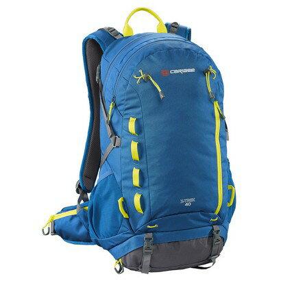 Caribee X-Trek 40 Hiking Backpack (sirius blue/hyper yellow) 0