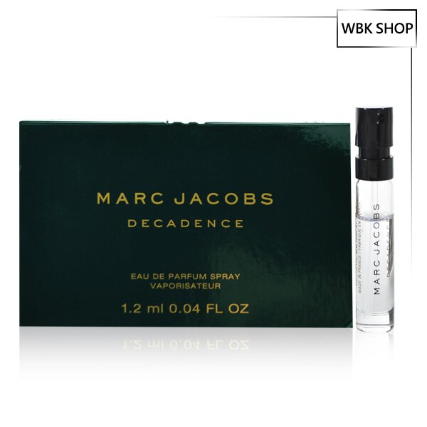 Marc Jacobs 不羈女郎 女性淡香精 針管小香 1.2ml ~ WBK SHOP