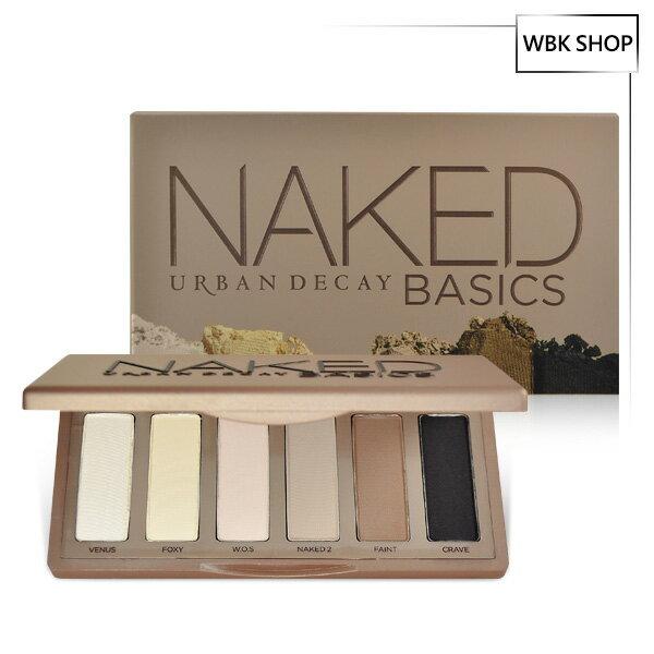 Urban Decay Naked Basics 6色眼影盤 6x1.3g - WBK SHOP