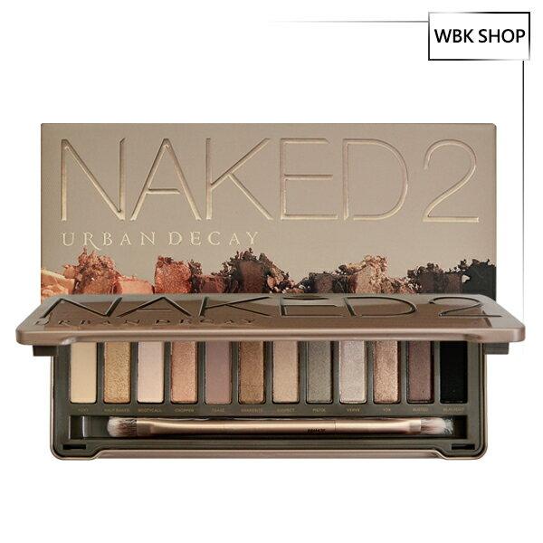 Urban Decay Naked 2大地色系眼影盤 12色 - WBK SHOP