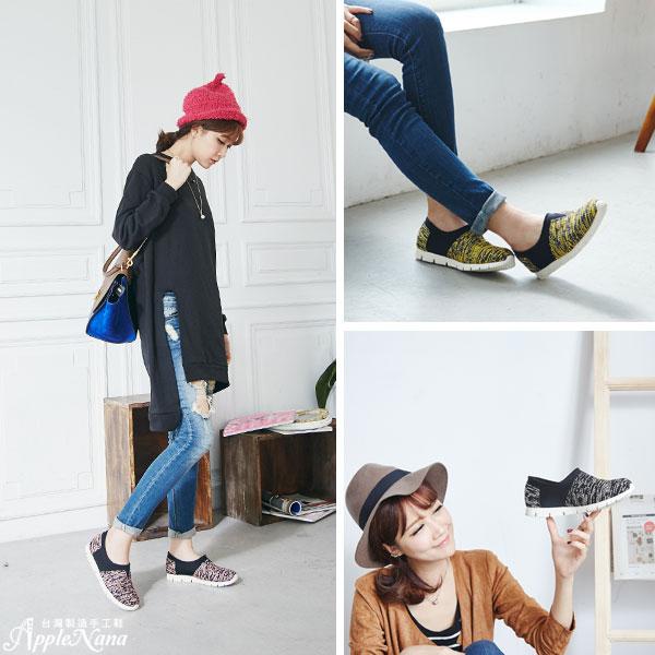 AppleNana。強推!!韓系街頭風運動女孩氣墊懶人鞋【QC132181380】蘋果奈奈 3
