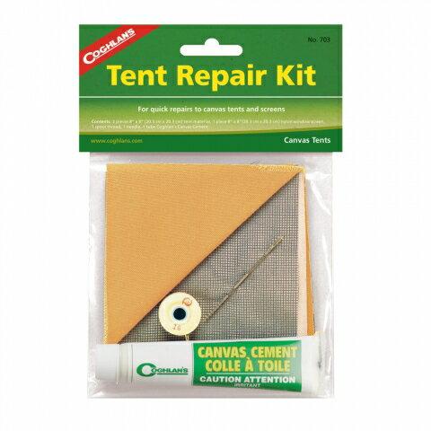 【露營趣】中和 加拿大 COGHLANS 703 帳棚修補包 帳篷修補