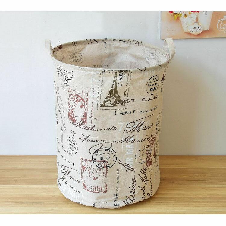 收納筒 超大收納洗衣籃 玩具雜貨收納  40*50【ZA0757】 BOBI  09/14 2