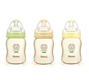 辛巴 PPSU寬口葫蘆小奶瓶200ml