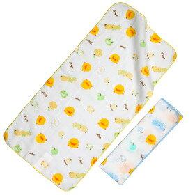黃色小鴨 印圖紗布澡巾