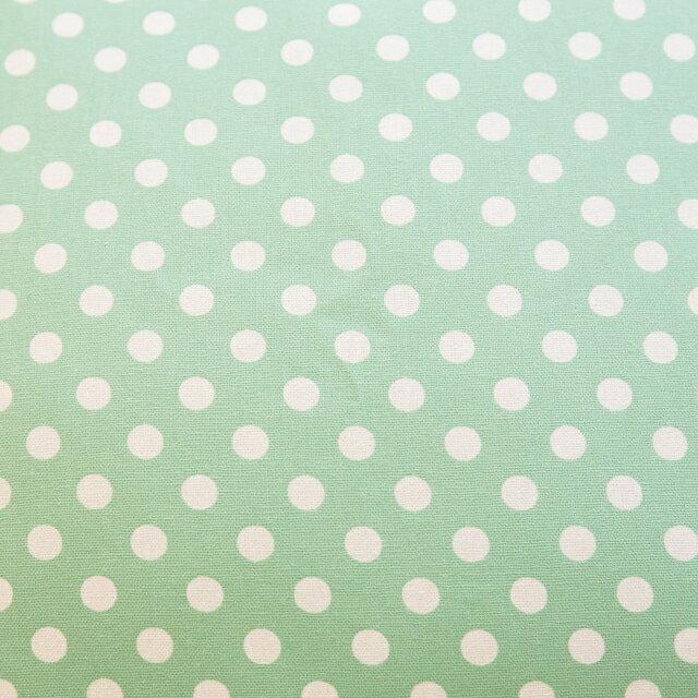 青草綠點點抱枕  45cmx45cm 精選素材 復古 純棉 3