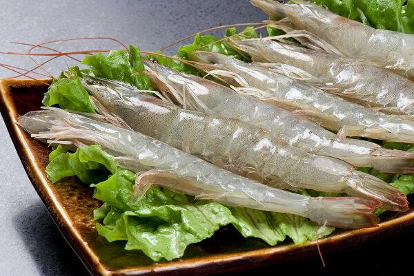 頂級生白蝦特大30\40     700g±10%