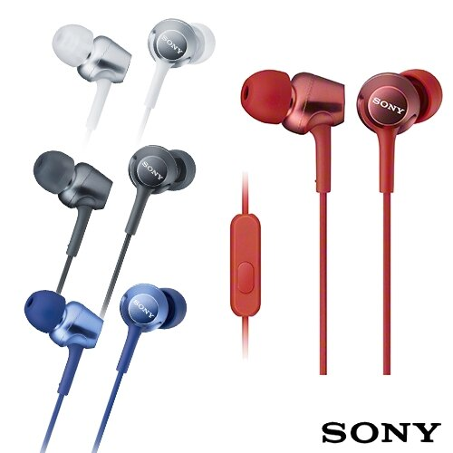 SONY MDR-EX250AP 金屬炫彩高音質入耳式耳機  支援全系列智慧型手機 線控 麥克風