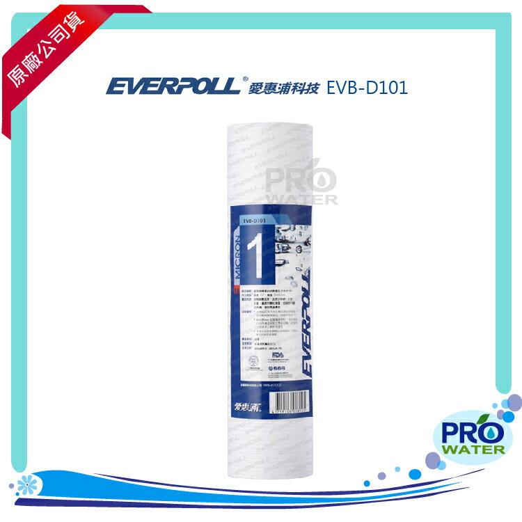 EVERPOLL愛惠浦科技 溝槽式抗菌濾芯(EVB-D101)★使用天然有機抗菌原料製成★過濾水中雜質、汙染物 - 限時優惠好康折扣