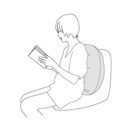 『121婦嬰用品館』unilove 哺乳枕 - 橘 3
