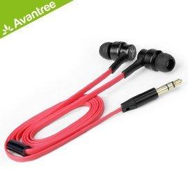 *╯新風尚潮流╭*Avantree 短線 入耳式 耳機 40cm 扁線設計 藍芽接收器專用 AS7-Ear