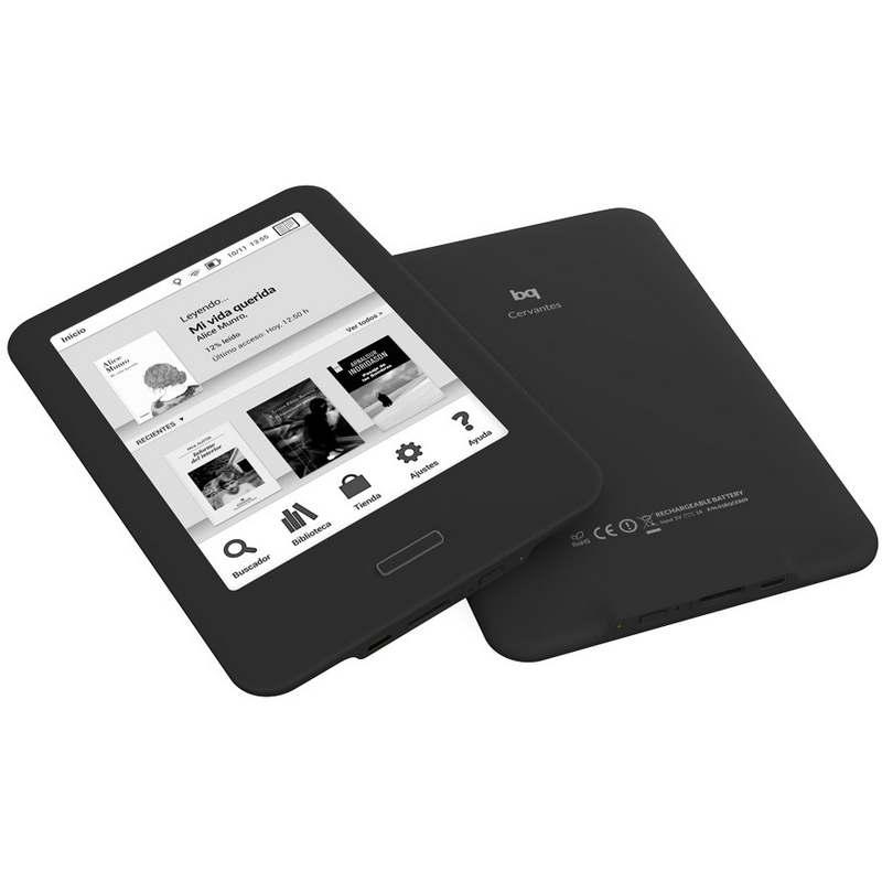 BQ NUEVO CERVANTES 4GB EBOOK E-READER OUTLET 6
