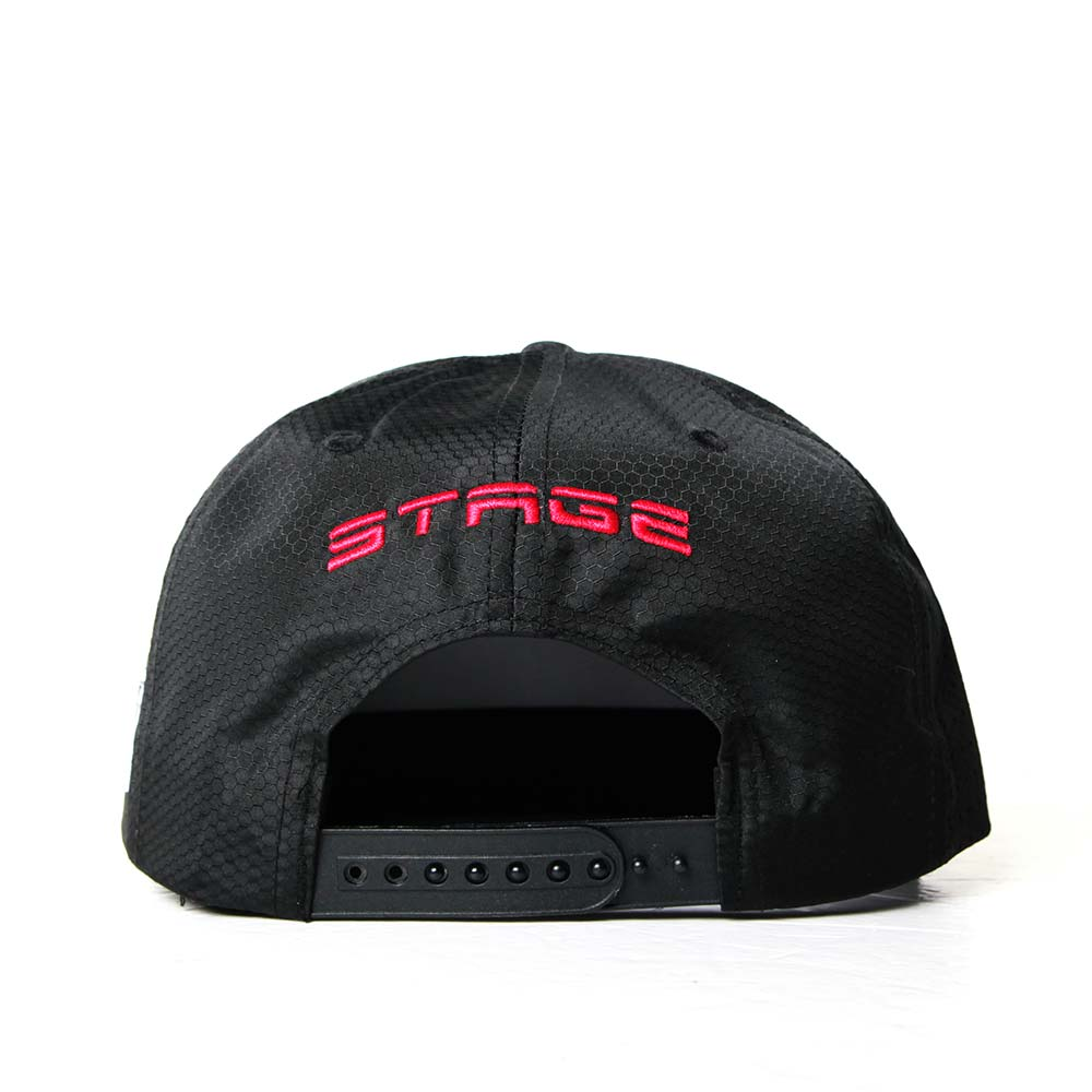 STAGE LOGO SHOW SNAPBACK 黑色 / 白色 兩色 4