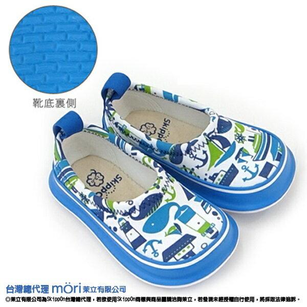 日本熱賣SkippOn幼兒戶外機能鞋-藍色鯨魚