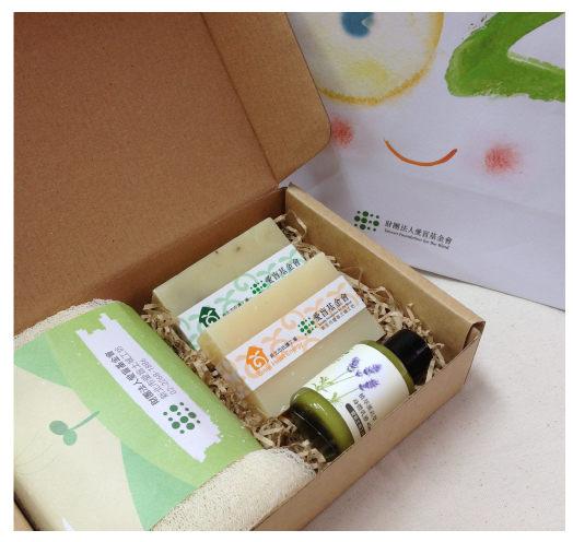 【愛盲土城工坊】保養潔淨手工皂禮盒