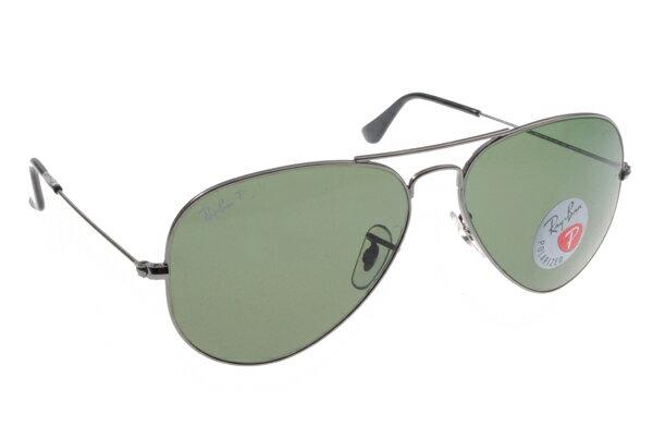 Ray Ban雷朋 槍色銀邊 太陽眼鏡 RB3025 偏光鏡 4