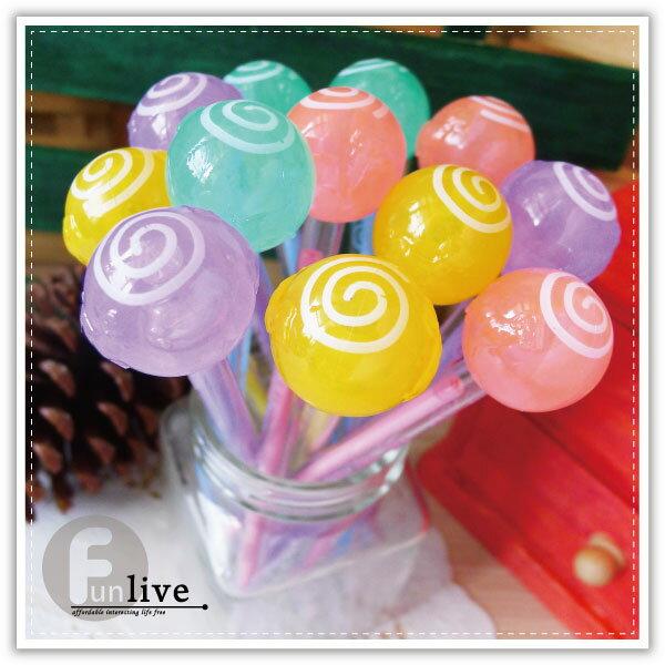 【aife life】夜光棒棒糖中性筆/棒棒糖筆/彩色糖果筆/造型原子筆/創意文具/廣告筆/簽名筆/婚禮小物