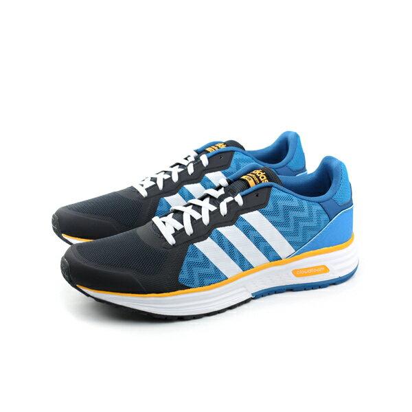 adidas 跑鞋 男鞋 藍色 no333
