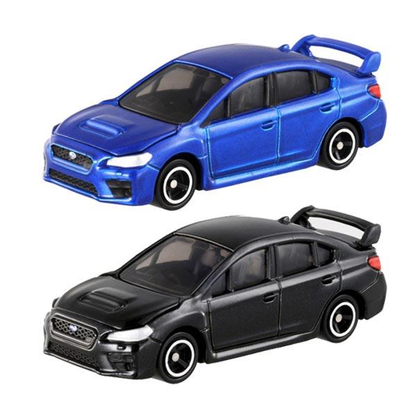 【奇買親子購物網】(112)【TOMICA多美小汽車】SUBARU WRX STI Type S(普通款/初回限定款)