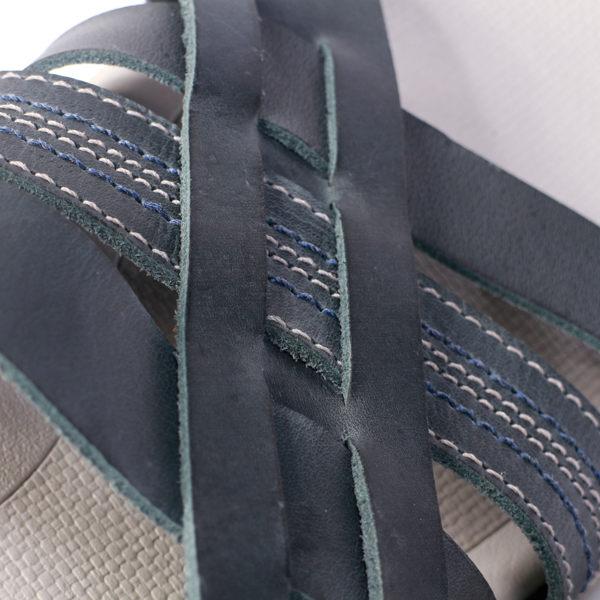 Kildare 巴西編織休閒涼鞋 藍 男 4