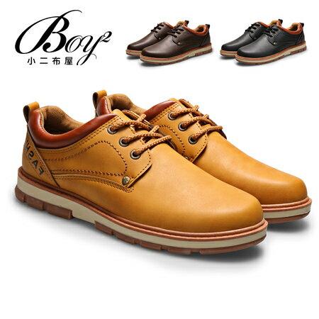 ☆BOY-2☆【JP99042】低統鞋 美式皮革質感低筒休閒鞋 0