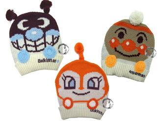 童衣圓【R026】R26毛線超人帽 麵包超人 細菌人 小病毒 保暖帽 毛線帽 寶寶帽 秋冬可愛款
