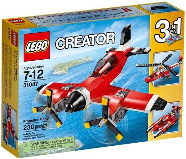 ~LEGO 樂高積木~Creator 3合1創作系列 ~ 螺旋槳飛機 LT~31047