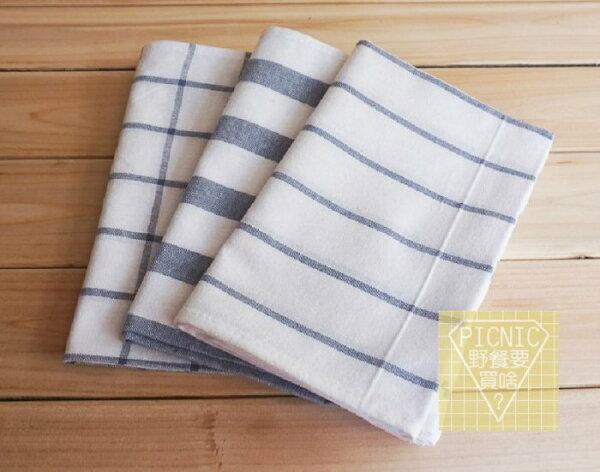 《野餐要買啥》Zakka日式雜貨純棉防水隔熱野餐墊桌墊擦手巾