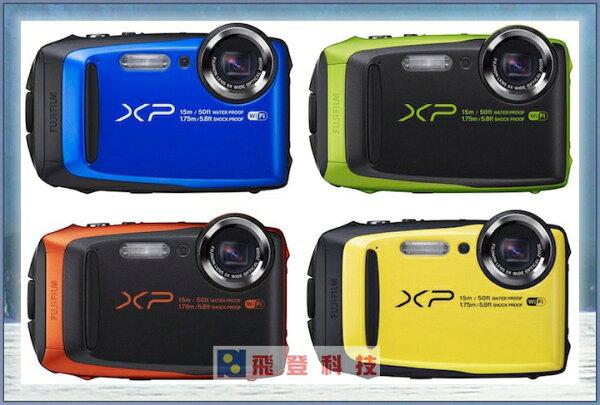 【防水相機】送32g記憶卡 副廠電池 FUJIFILM XP90 防水防震防凍防塵多重防護運動相機 含稅開發票公司貨