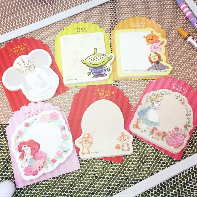 PGS7 迪士尼系列 ~ 迪士尼 便條貼 便條紙 N次貼 米奇 愛麗而 愛麗絲 三眼怪 小