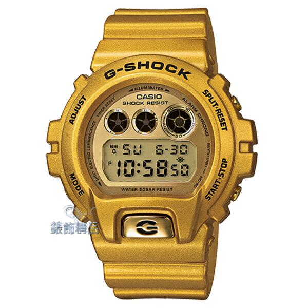 【錶飾精品】現貨卡西歐CASIO G-SHOCK炫金新設計 DW-6900GD-9閃耀金DW-6900GD-9DR/ER