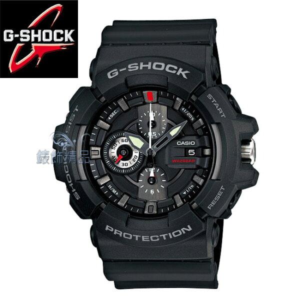 【錶飾精品】現貨卡西歐CASIO G-SHOCK重型機械感 炫黑GAC-100-1A全新原廠正品GAC-100-1ADR 禮物
