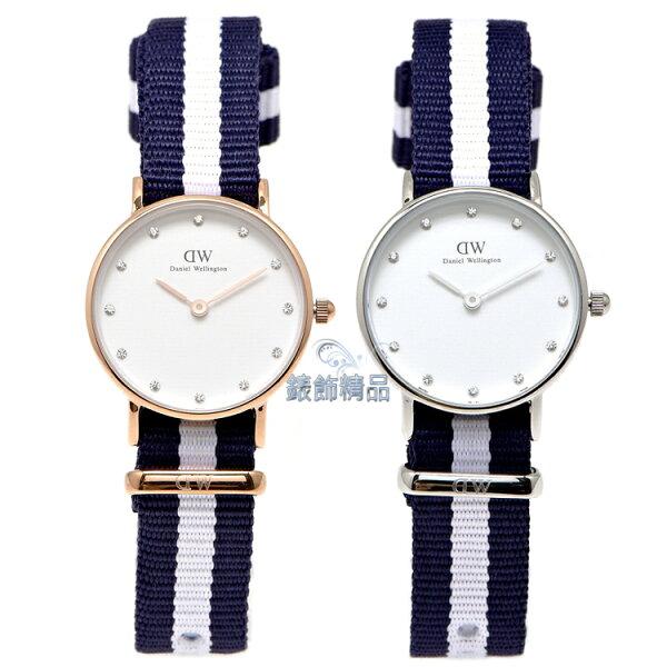 【錶飾精品】現貨 瑞典 DW 手錶 Daniel Wellington 北歐極簡休閒 尼龍 0908DW金 0928DW銀 Classy Glasgow 26mm