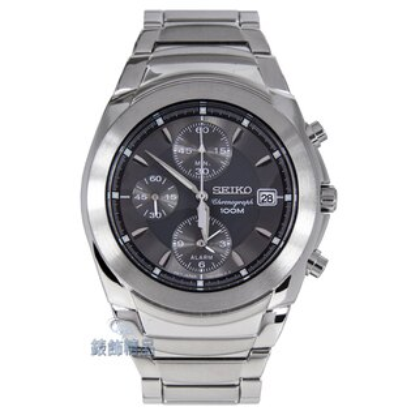 【錶飾精品】SEIKO手錶/精工錶 三眼計時 日期 百米防水鋼帶 SNA421 男錶 SNA421P1 全新正品