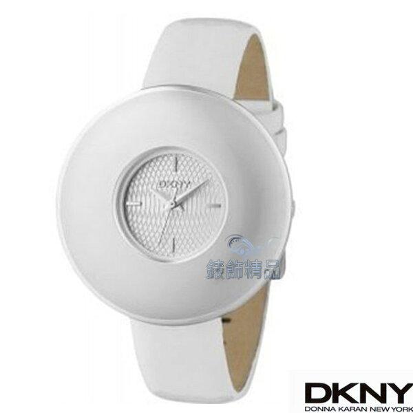 【錶飾精品】DKNY WATCH/DKNY手錶/DKNY錶活潑鮮明圓弧造型菱格紋錶盤女錶 NY4319全新原廠正品