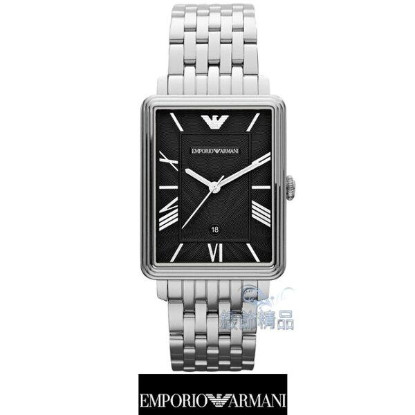 【錶飾精品】ARMANI WATCH/ARMANI手錶/ARMANI錶/亞曼尼經典放射波紋錶盤日期男錶AR1662全新原廠正品
