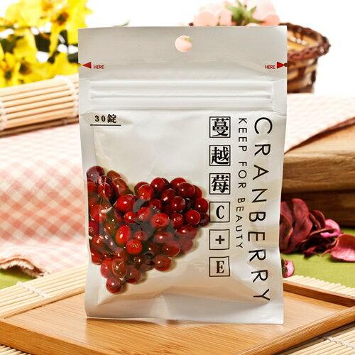 『新百祿』蔓越莓C+E錠/包(30錠)