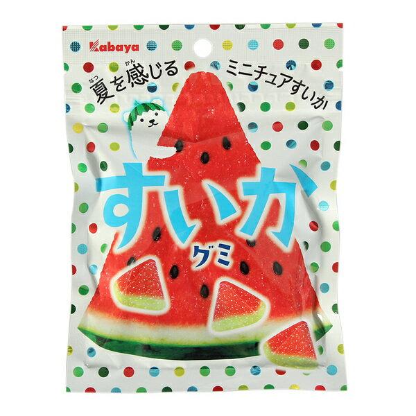 有樂町進口食品 日本進口卡巴西瓜軟糖 (50g) 4901550267348