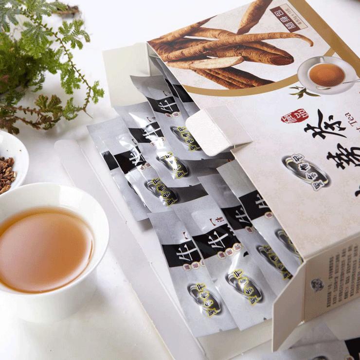 【黑金傳奇】牛蒡茶隨身包(每包5g x 15包,75g) 4