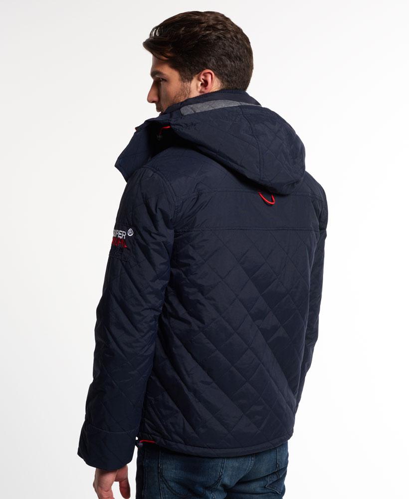 [男款]英國代購 極度乾燥 Superdry Wind Yachter 男士風衣戶外休閒外套 防水防風 海軍藍/紅色 3