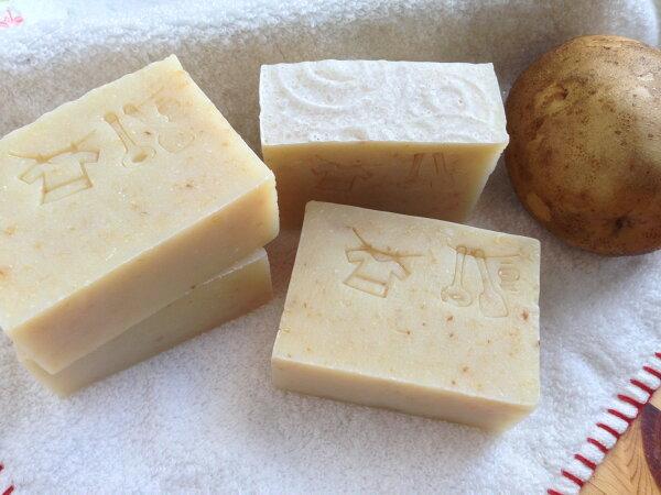 【莎拉創皂】馬鈴薯家事皂